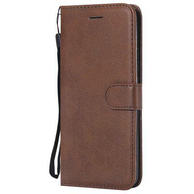 For Huawei Mate 20 Pro Case Luxury Plain PU Leather Flip Wallet Cover