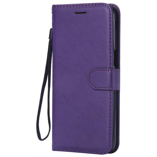 on sale 2bfe3 9503a Book Phone Case For Samsung Galaxy J6 Prime / J6 Plus Plain Leather Wallet  Cover