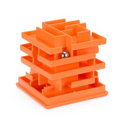 Children's Puzzle 3D Puzzle Difficult Toy Multi-layer Ball Maze Cube Toy