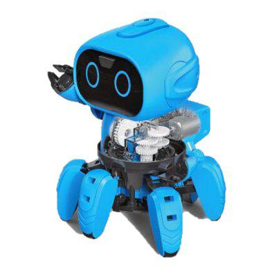 Original DIY Assembled Electric Robot Induction Educational Toy Christmas Gift
