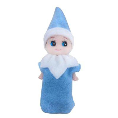 New Xmas Elf Baby Plush Toy Christmas Dolls for Christmas Decoration