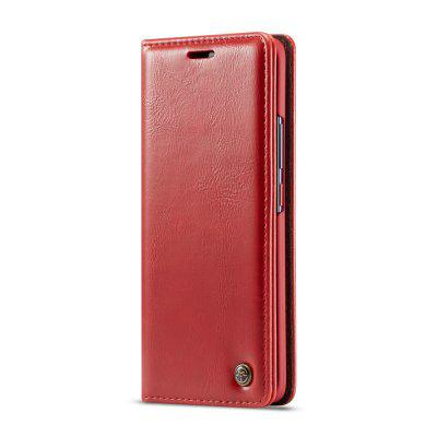 CaseMe Magnetic Closure Flip PU Leather Wallet Phone Case for Huawei Mate 20 Pro