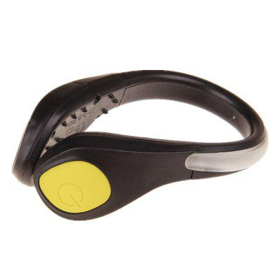 2Pcs LED Light Shoe Clip Light Night Safety Warning Running Sport all'aria aperta