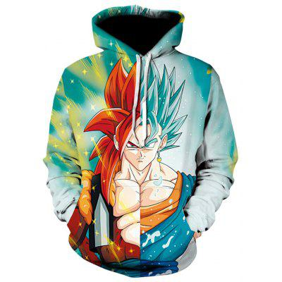 New Anime Game Characters 3D Printed Hoodies