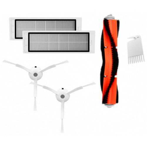 Main Brush Filters Cleaner Side Brushes Accessories for XIAOMI MI Robot Vacuum