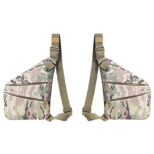 Unisex Messenger Bag Forest Camouflage Shoulder Chest Cross Body Backpack Bag
