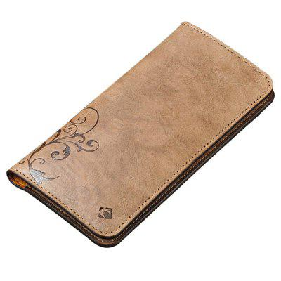 Cornmi Under 5.5 Inch Universal Leather Flip Wallet Pouch Phone Case for Iphone