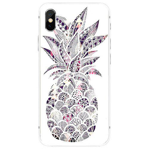 low priced ccb03 8e378 For Iphone Xs Max Iphone Xs Iphone X Pineapple Pattern Cell Phone Case