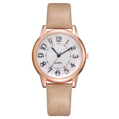 XR2801 Casual Girl Watch Classic Digital Alloy Quartz Watch