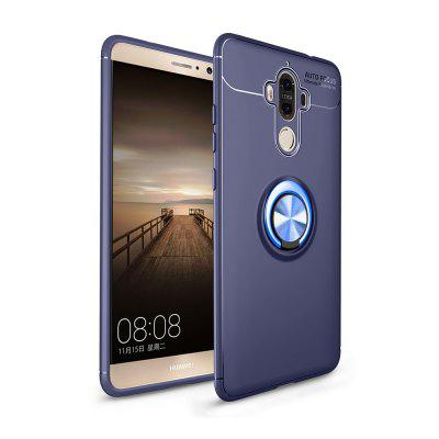 360 Degree Metal Ring Kickstand Thin Soft TPU for Huawei Mate 9