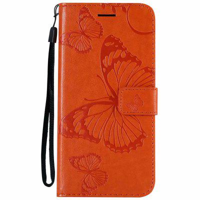 Redmi 6 Pro Case Sunflower Embossed Leather Wallet Case for Xiaomi Redmi 6 Pro