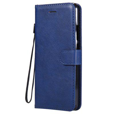 For Xiaomi Mi 8 Case Plain PU Leather Case For Xiaomi Mi 7 Stand Wallet Cover