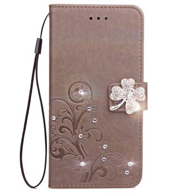 For Iphone XS Case Handmade Diamond Rhinestone Wallet Cover For Iphone X