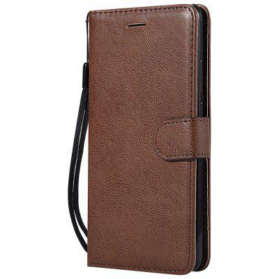 Wallet Case For Huawei Mate 10 Plain PU Leather Protective Cover Flip Phone Bag