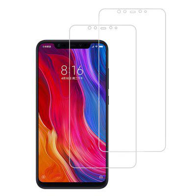 2PCS 9H 0.26mm 2.5D Tempered Glass Screen Protector for Xiaomi Mi 8