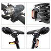 Bike Cycling Waterproof Front Light +Taillight Super Light With USB Rechargable - BLACK