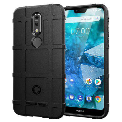 Silicone Soft Shockproof Shield Cover Case for Nokia 7.1