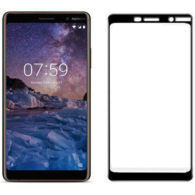 for NOKIA 7 PLUS 9H 2.5D Hd Steel Glass Protective Film