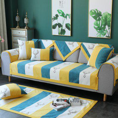 Fabric Antiskid and Simple Nordic Sofa Cover