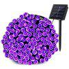 YWXLight LED Solar String Light 10M IP65 Waterproof Garden Light 100LED - PURPLE