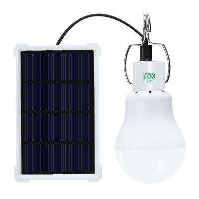 YWXLight LED 5W Solar Camping Light Sensor Bulb With Panel Rechargeable LED Bulb