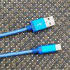 gocomma USB3.1 Network Cable for Android Type-C Fast Charge - DODGER BLUE