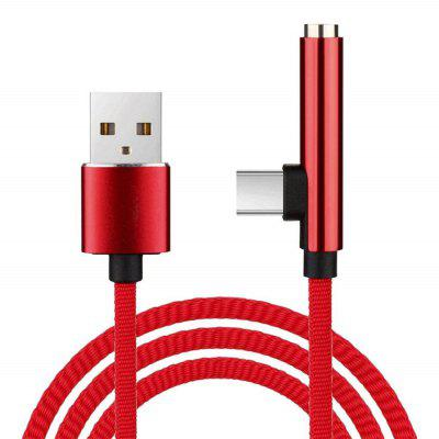 2-in-1-Typ-C-USB-Kabel an 3,5-mm-Aux-Audio-Adapterladung