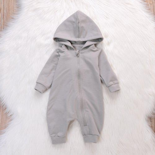 d1c2d61d9 Baby Boy Girl 3D Dinosaur Costume Solid Pink Gray Rompers Warm ...