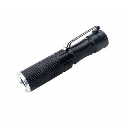 ZHISHUNJIA B28 200lm 1-Mode White Light Flashlight - Black (1x14500)