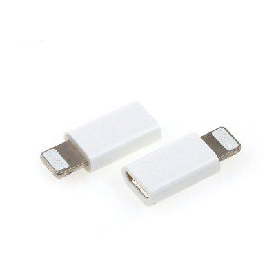Micro USB Adapter Charging Adapter Data trans for iPhone 2pcs