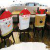 Decorate Chair Covers for Christmas - MULTI-B