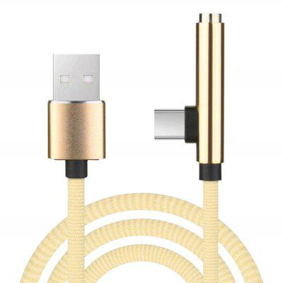 2 In 1 Typ C bis 3,5 mm Kopf Aux Audio Charge USB C-Kabel
