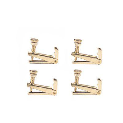 4PCS Violin Cello Tuners Spinner String Adjuster for 3/4 or 4/4 Size