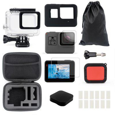 Accessories Kit for GoPro Hero 7 / 6 / 5 Black Water-resistant Housing Case