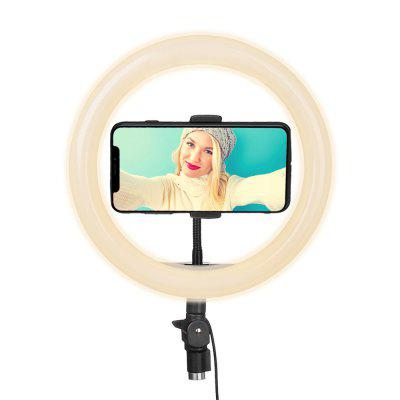 Mobile Phone Fill Lamp Camera Three Color Dimming LED Ring Light