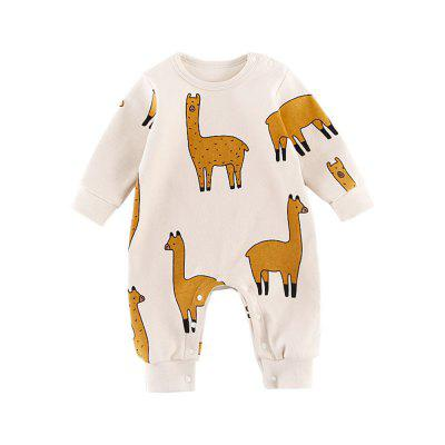 Boy Girls Jumpsuit Outfits Long Sleeve Clothes Infant Unisex