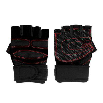 Sport Gloves Fitness Training Gym Gloves for Men Women (M)