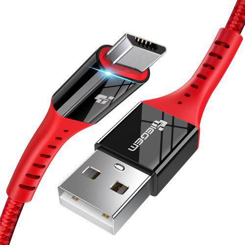 TIEGEM Micro USB Cable Quick Charge USB Data Cable for all Micro USB Devices