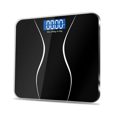 Accurate Digital Body Weight Bathroom Scale with LCD Backlight Display