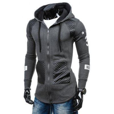 Mode Casual Casual Manteau Mens Hooded