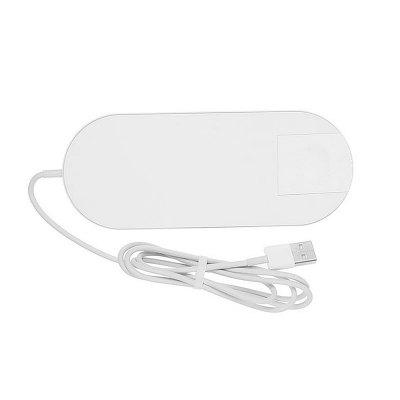 Minismile 10W 2 in 1 Fast Qi Wireless Charger for iWatch 4/3/2/ iPhone Xs/Xr