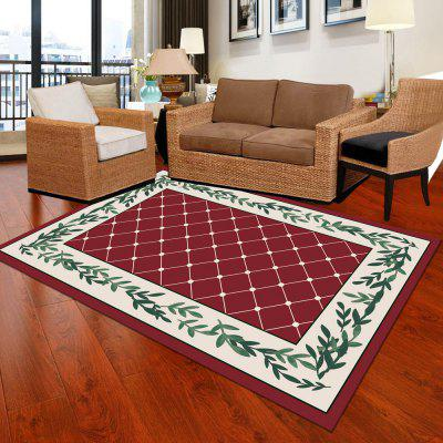 Tapis de salon 1pc tapis de style moderne de bloc de couleur de style simple