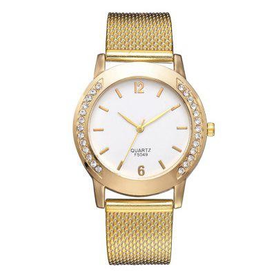 Xr3111 Trendy Alloy Quartz Watch with Gold Quartz Watch on Both Sides