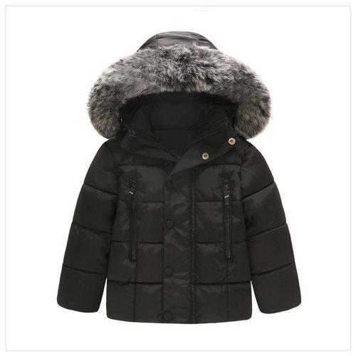 f2f591bae 2019 Autumn Winter Boys Jacket Coat Kids Warm Thick Hooded Children ...