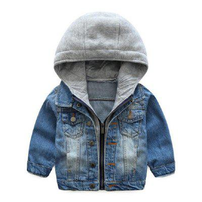 2019 Kids Denim Jacket Boys Girls Jean Coat Clothing Fashion Causal Cardigan