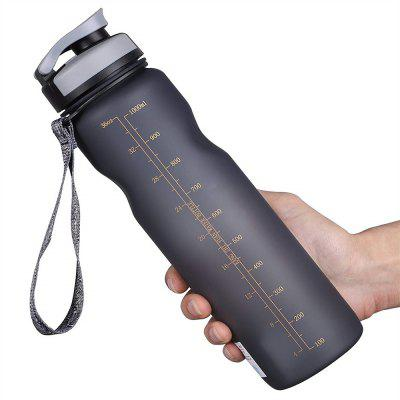 Sports Water Bottle with Leak Proof Flip Top Lid for Sports Hiking Camping