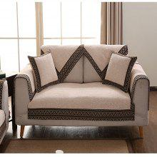 Simple Modern Cloth Art Linen Non Slip Sofa Cushion