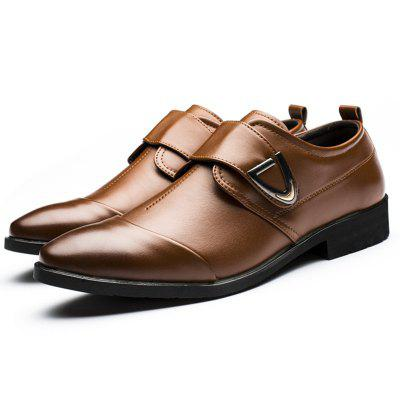 Oxfords Formal Shoes Mens Leather Wedding Shoes