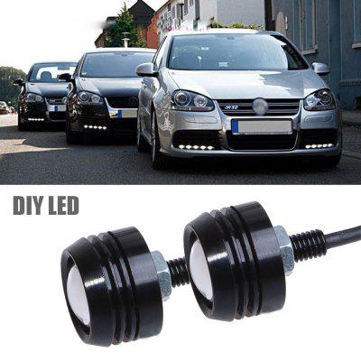 BOSMAA DIY LED Eagle Eye Lights 2W DRL Daytime Running Lamp