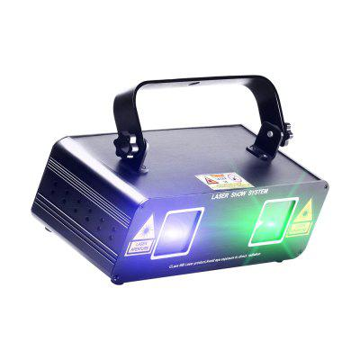 UKing 50mW Green and 200mW Blue Laser Pattern Projector for Stage Lighting
